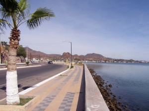 malecon Guaymas Sonora Mexico