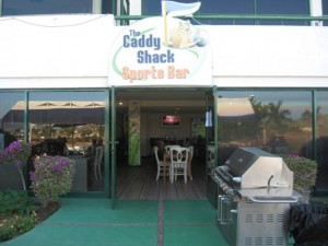Caddy shack golf course