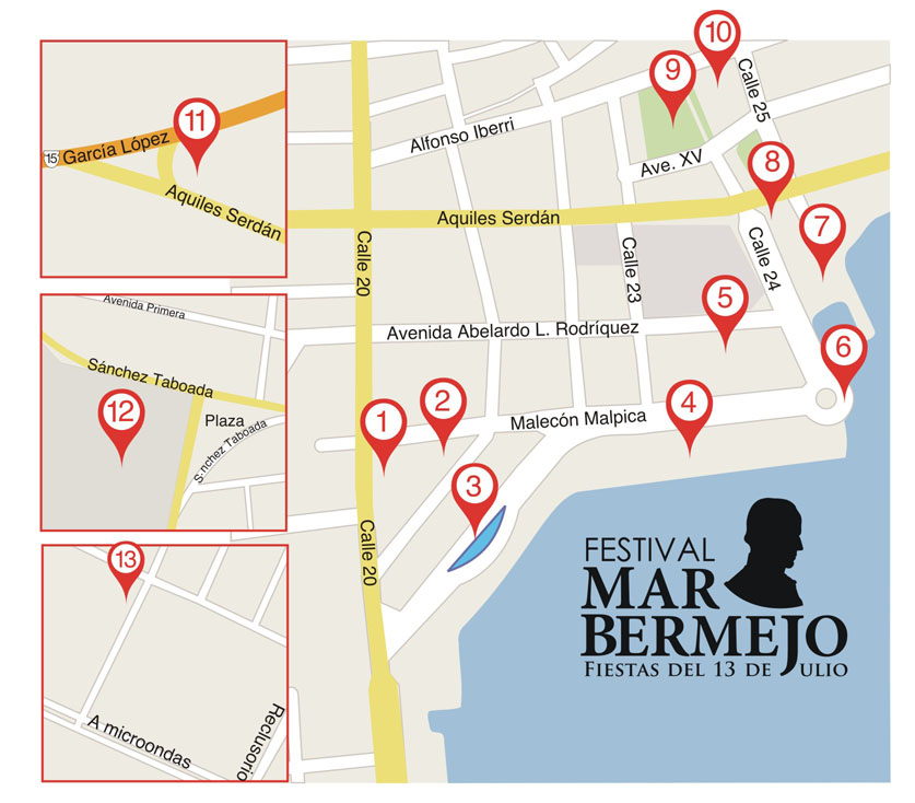 festival mar bermejo map