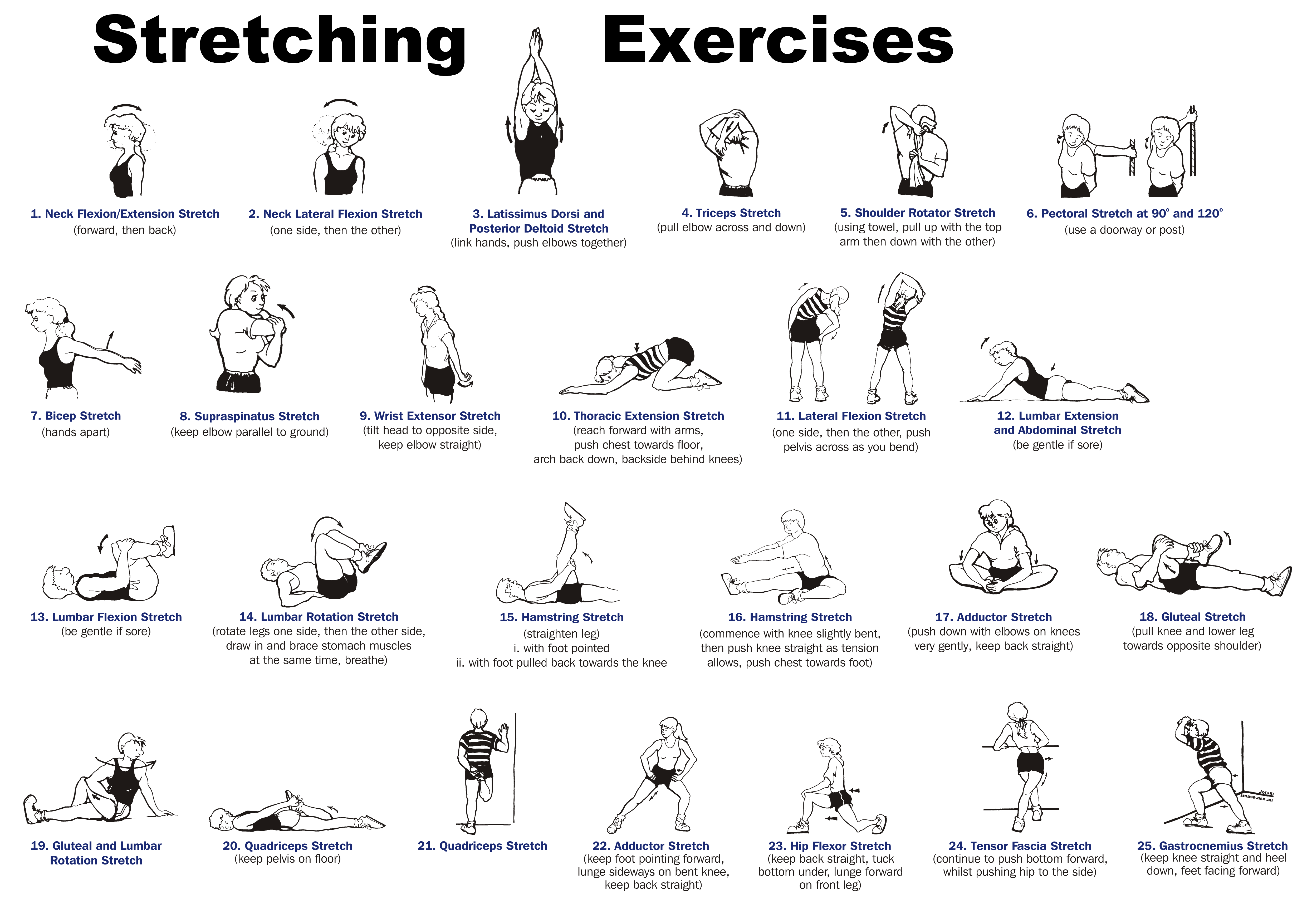 How to stretch 6