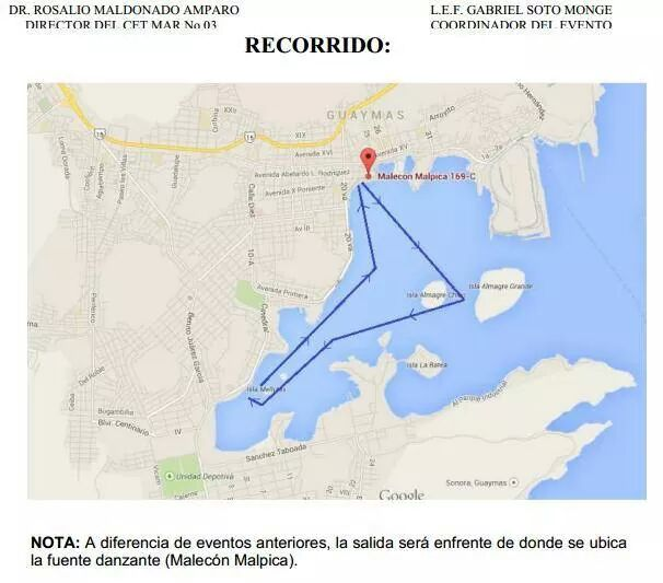 Remando CetMar Guaymas Paddle