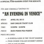 An Evening in Venice: April 22