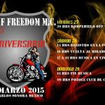 Sons of Freedom Anniversary Party: March 27 - 29